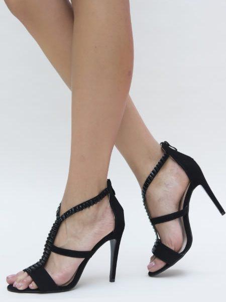 Sandale Cu Toc De Nunta
