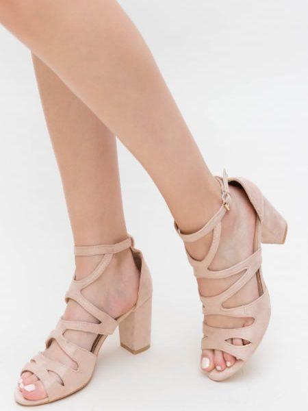 Sandale Cu Toc Gros Comode