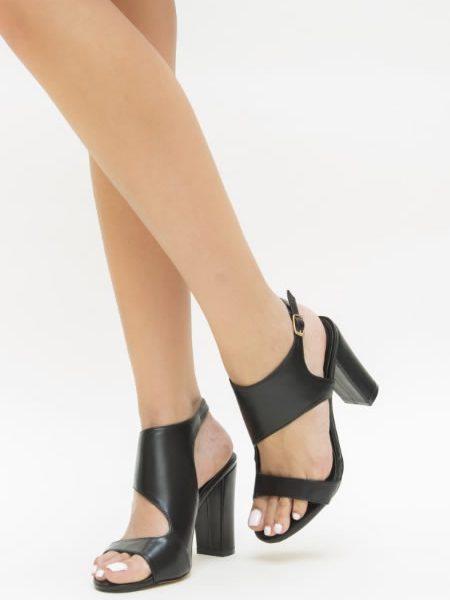Sandale Cu Toc Gros Ieftine
