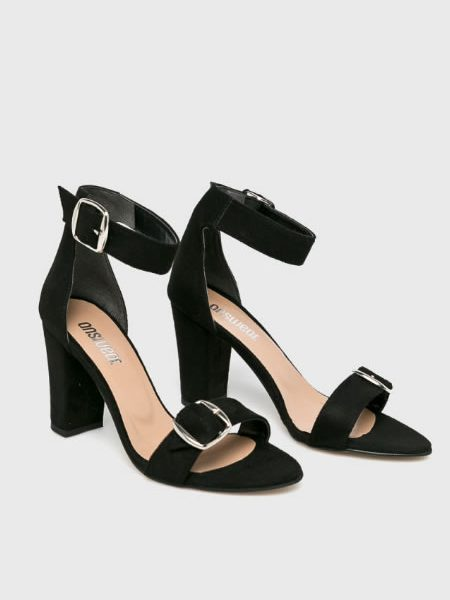 Sandale Cu Toc Gros Si Catarama Ieftine