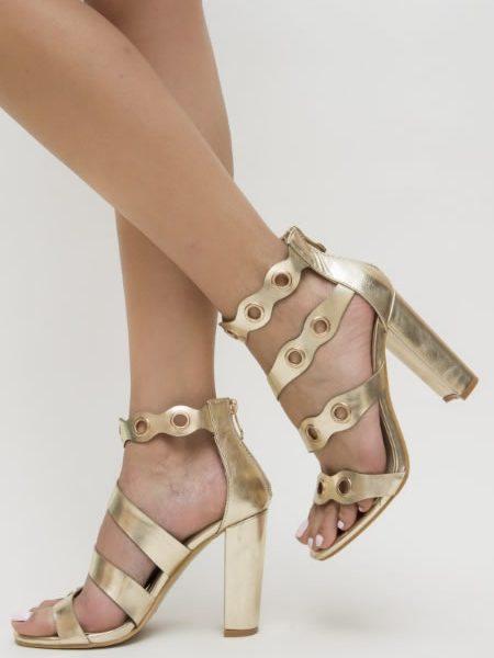 Sandale Cu Toc Inalt Gros