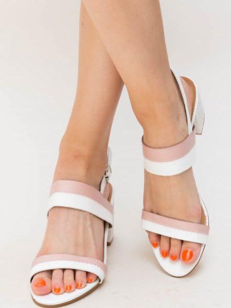 Sandale Cu Toc Mai Mic