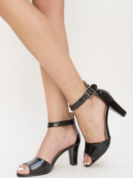 Sandale Cu Toc Mediu Gros
