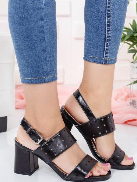 Sandale Cu Toc Mediu Ieftine