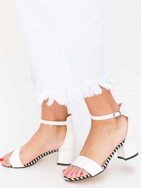 Sandale Dama Cu Toc Mic