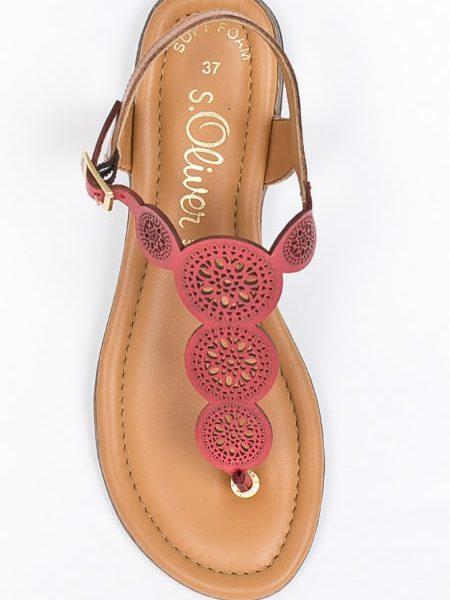 Sandale De Firma Cu Talpa Joasa Piele Naturala