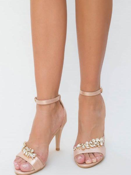 Sandale Din Satin Elegante