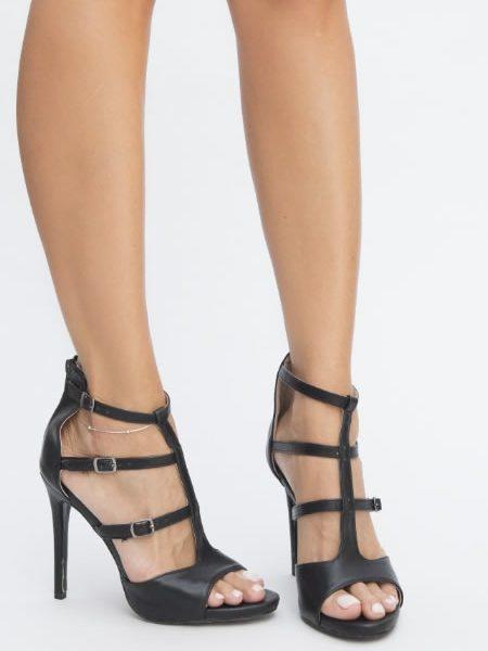 Sandale Elegante Cu Bareta Pe Glezna