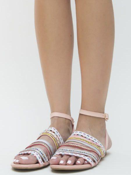 Sandale Fara Toc Cu Bareta