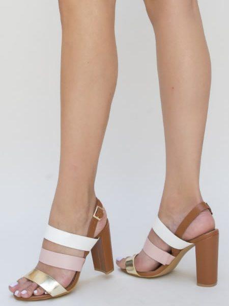 Sandale Ieftine Cu Toc Gros Dama