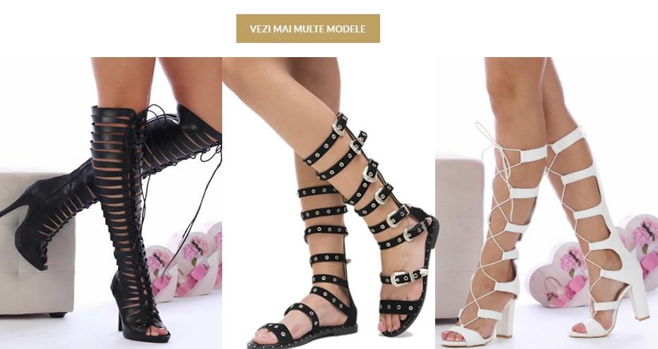Modele Sandale Gladiator Romane