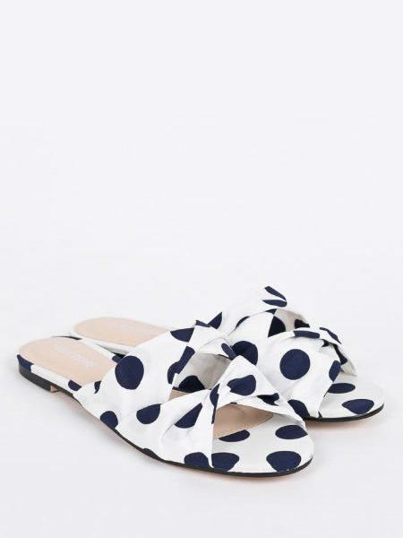 Papuci Dama Cu Bulinute
