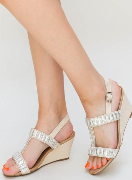 Sandale Cu Platforma Joasa Ieftine