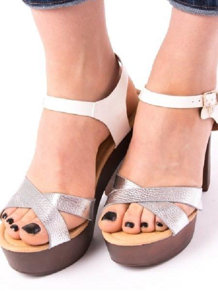 Sandale Cu Toc Gros Si Platforma Ieftine