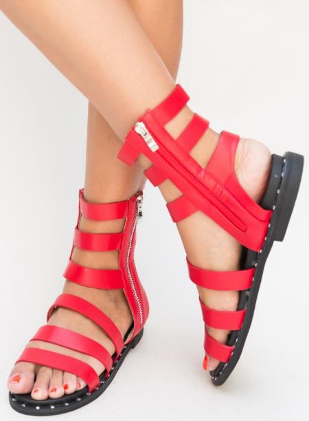 Sandale Gladiator Ieftine Fara Toc