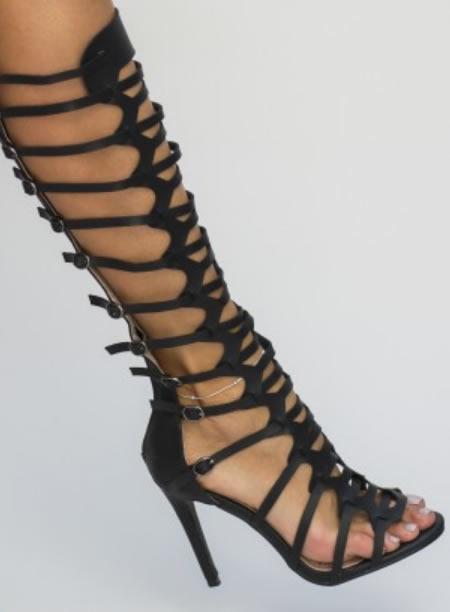 Sandale Gladiator Ieftine Lungi