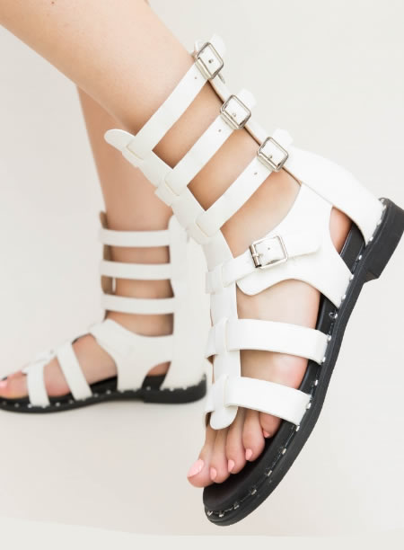 Sandale Gladiator Joase Scurte