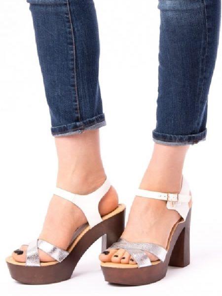 Sandale Ieftine Cu Toc Si Platforma