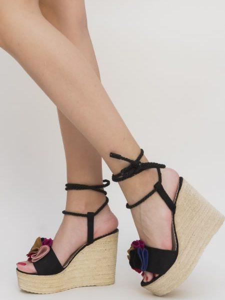 Sandale Inalte Cu Platforma