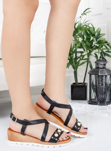 Sandale Negre Cu Platforma Online
