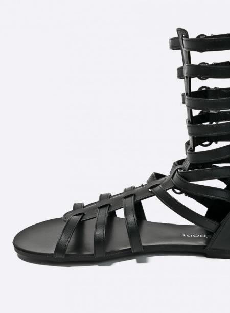 Sandale Negre Joase Gladiator