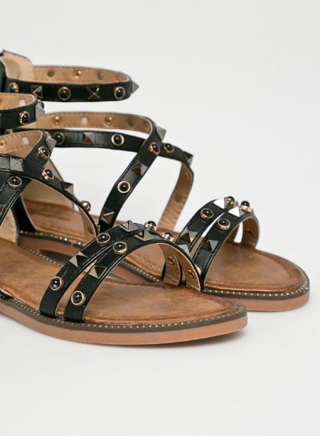 Sandale Negre Roamen