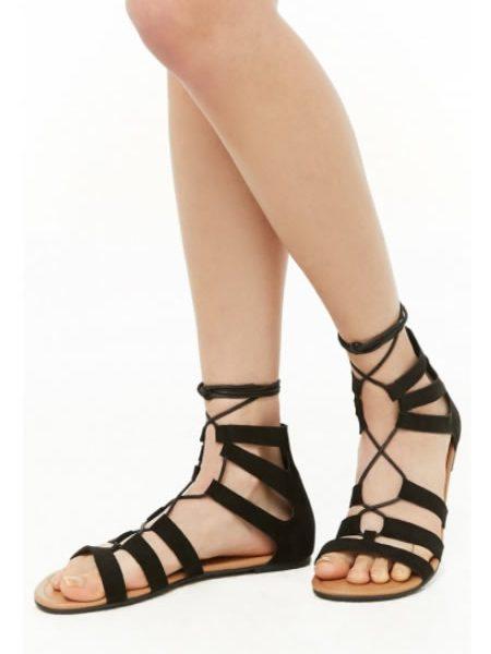 Sandale Romane Cu Siret