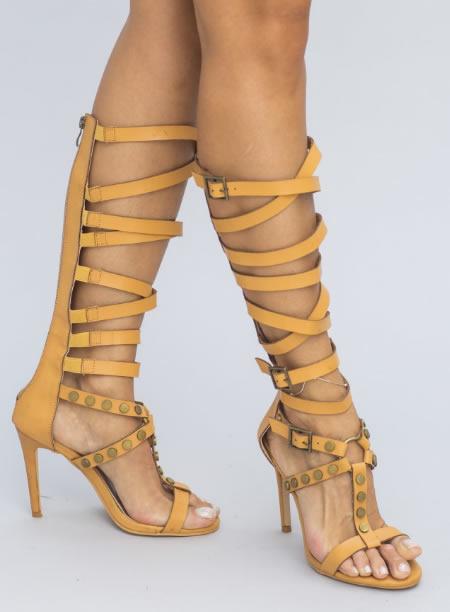 Sandale Romane Cu Toc Ieftine
