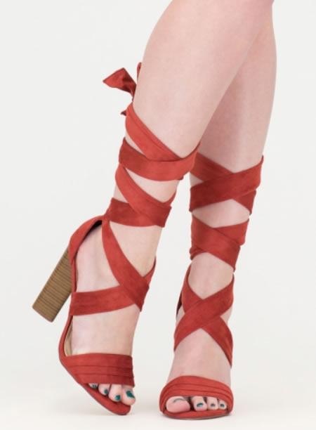 Sandale Romane Cu Toc