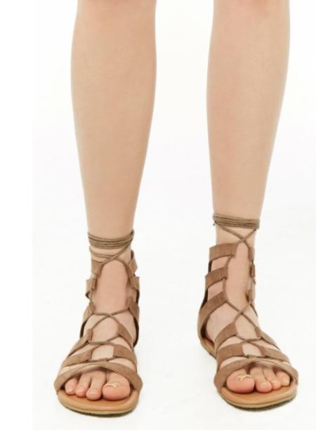 Sandale Romane Maro Scurte