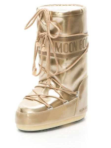 Apreschiuri Dama Moon Boot Aurii