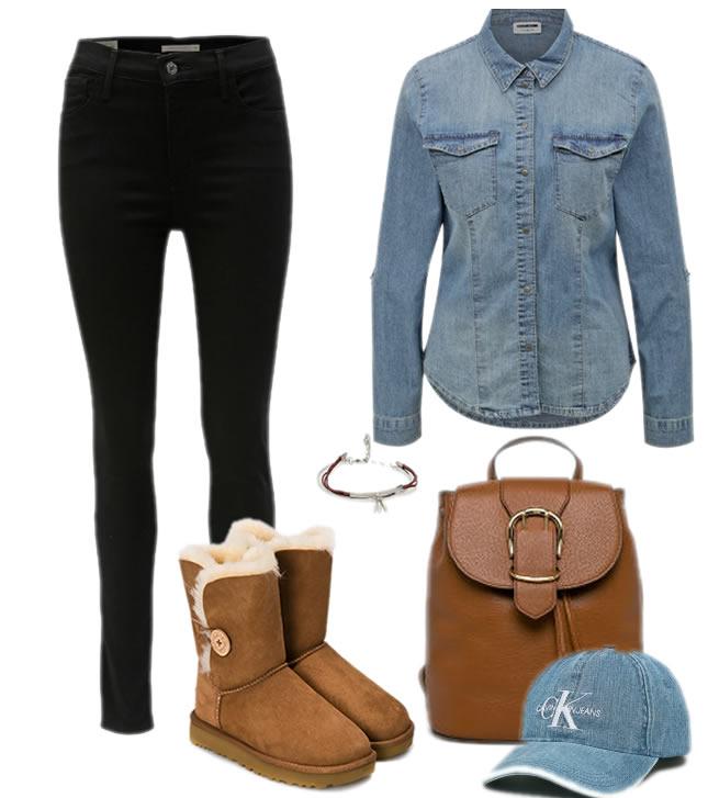 Cum Sa Porti Cizmele Ugg Lungi Cu Jeans