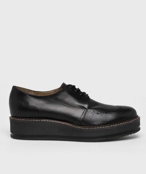Pantofi Oxford Cu Platforma