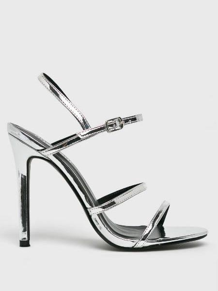 Sandale Argintii Ieftine