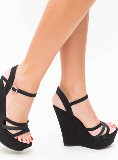 Sandale Cu Platforma Ortopedica Inalta
