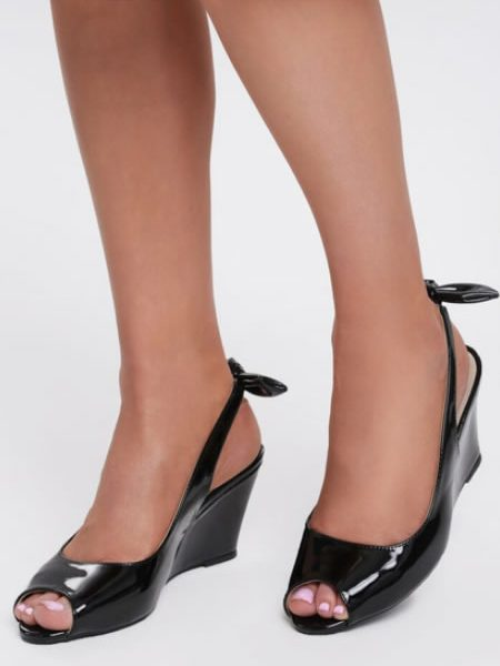 Sandale De Lac Cu Talpa Ortopedica Elegante