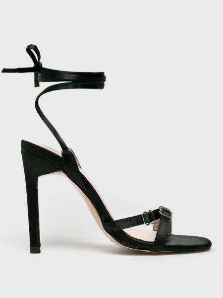 Sandale Elegante Cu Snur Pe Picior