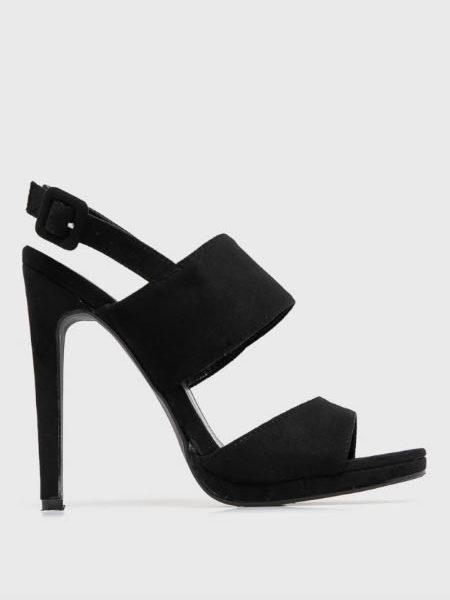 Sandale Ieftine Cu Toc Cui Negre
