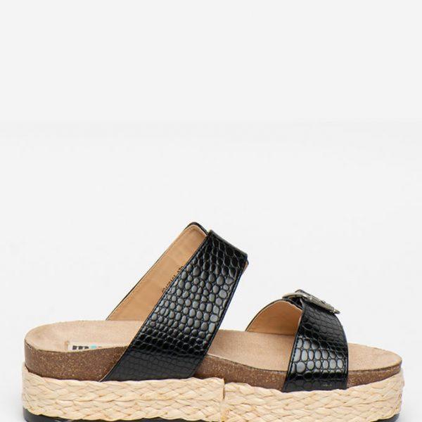 Papuci Negri La Moda Vara 2020