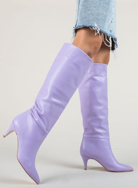 Cizme Deosebite Dama, Cizme Ieftine Colorate, Cizme La Moda Femei